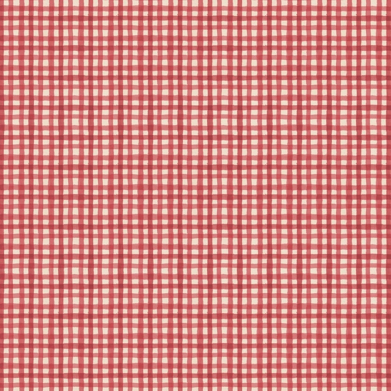 Farmhouse Chic Red Gingham   89243-331