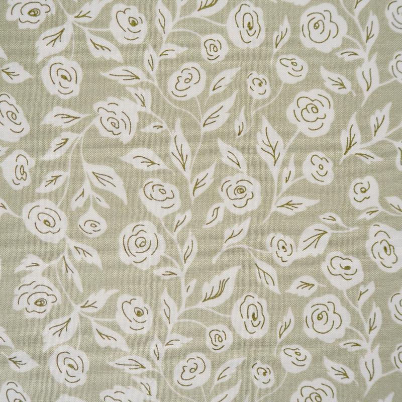 Folktale Green Sage Blooms   5121-14