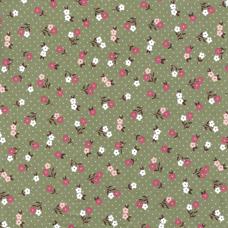 Folktale Green Sage Buds   5123-15