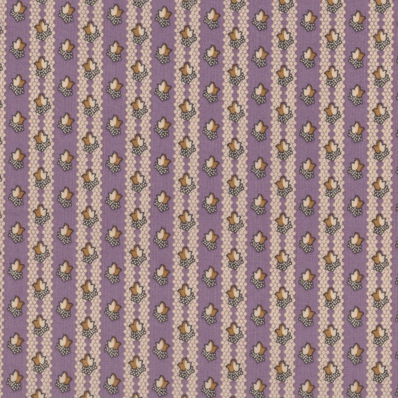 Full Circle Purple Leaf Stripe | 0639-1035