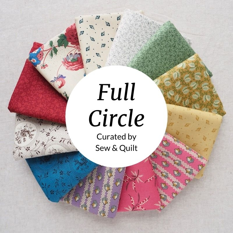 Full Circle quilting fabric bundle by Sarah Maxwell for Marcus Brothers