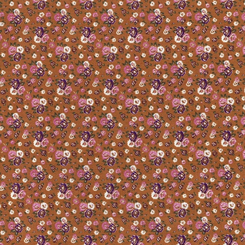 Gather Yarrow Floral cotton fabric 52619-6