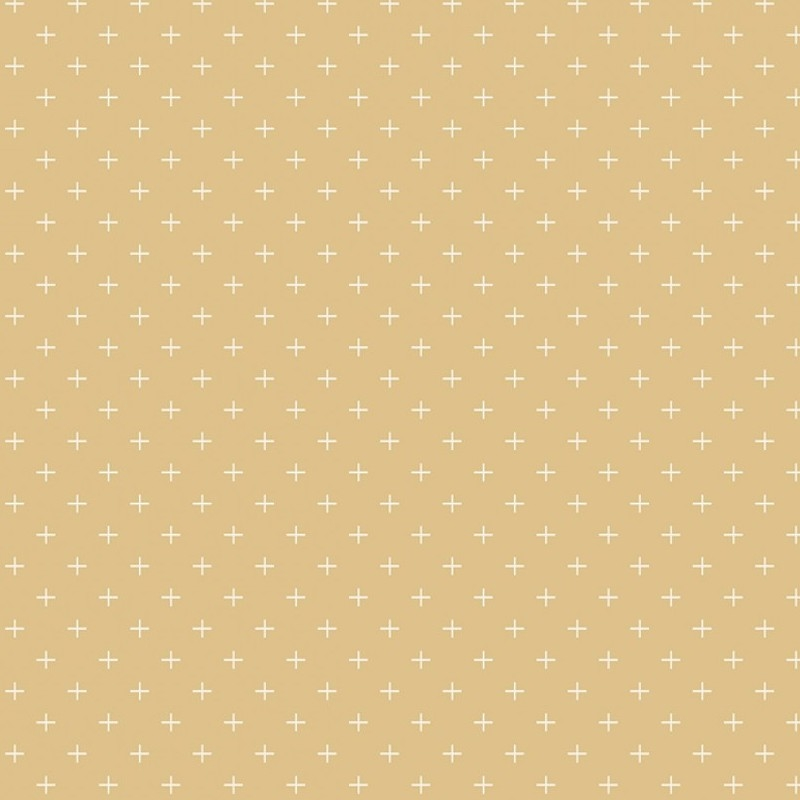 Gingham Gardens Plus Gold | C10357R-GOLD