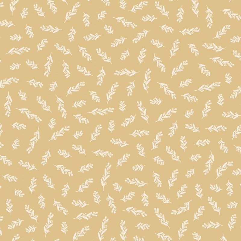 Gingham Gardens Stems Gold | C10356R-GOLD