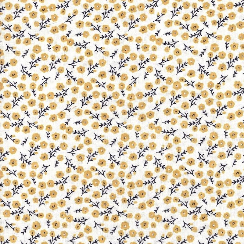 Gingham Foundry Blossoms Cream | C11134R-CREAM
