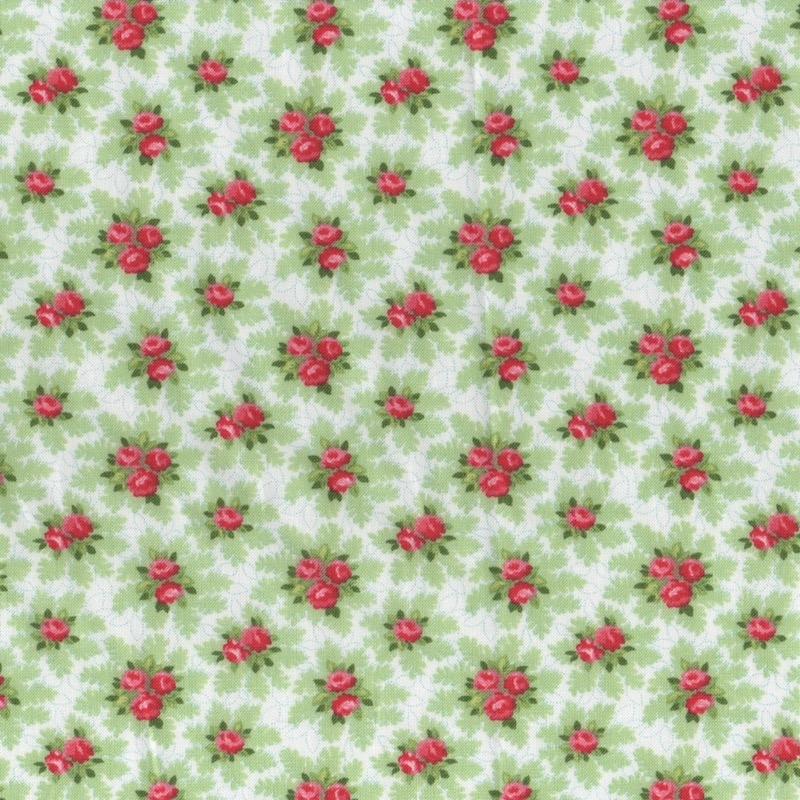 Good-Tidings-Christmas-Gingham-Fabric-UK