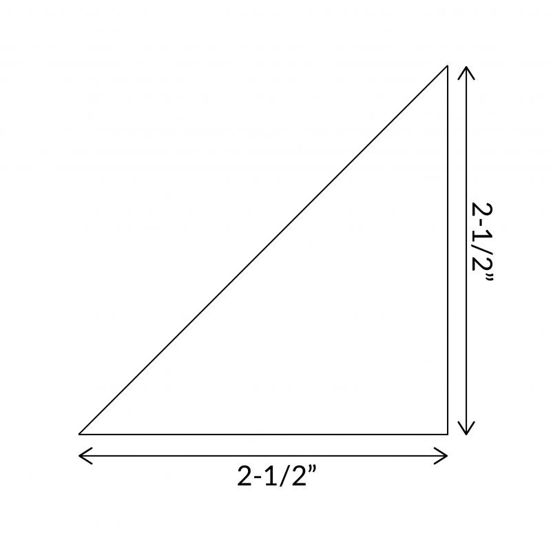 Half-Squre-Triangle-1-half-inch-size