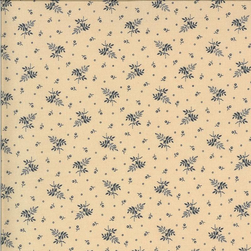 Hopewell Indigo on Cream Floral   38116-28