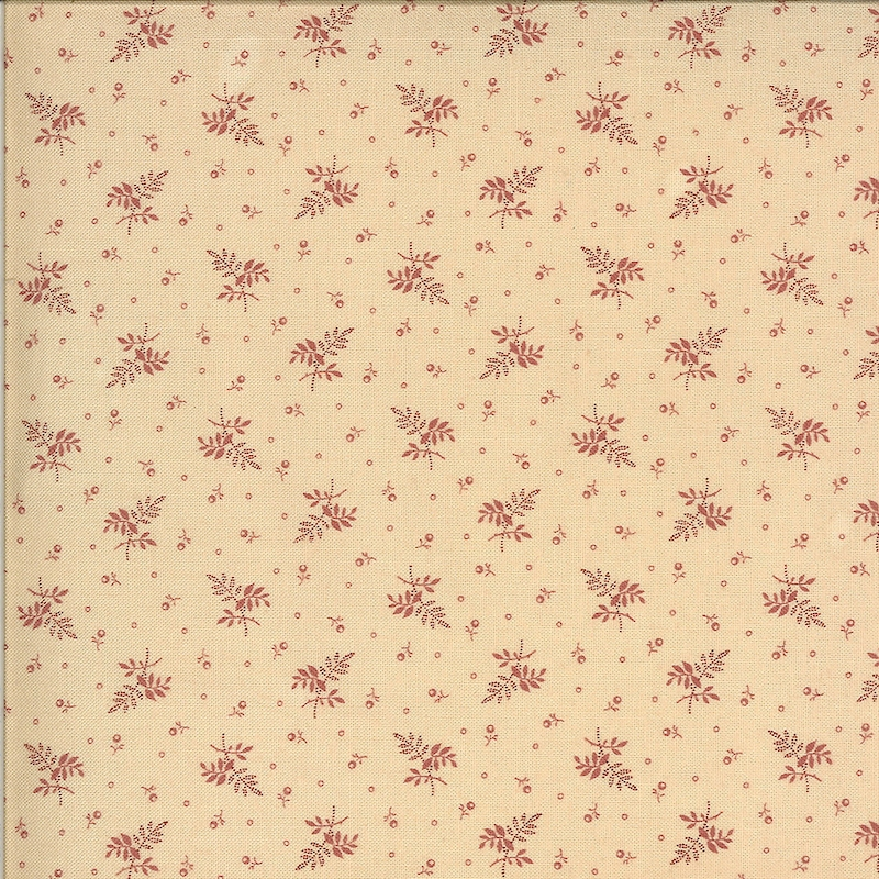 Hopewell Pink on Cream Floral   38116-25