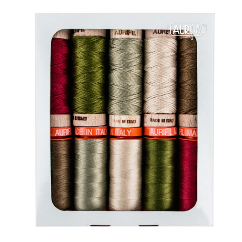 Joyeux-Noel-French-General-Aurifil-Thread-Collection