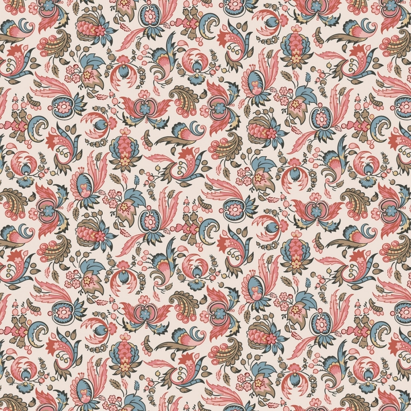 Jane Austen At Home fabric, Jane | C10005R
