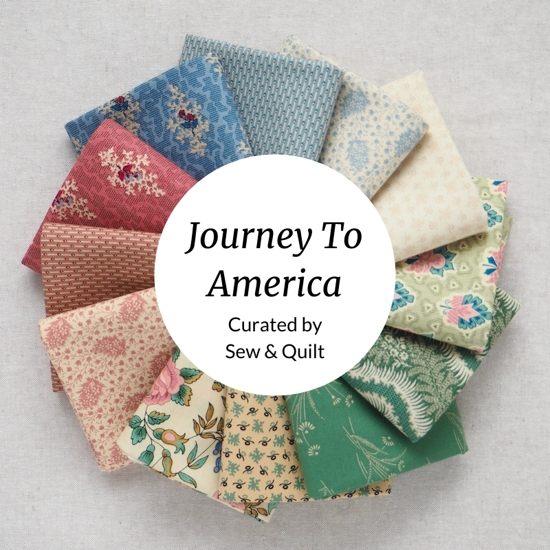 Journey To America, quilting Fat Quarter Bundle