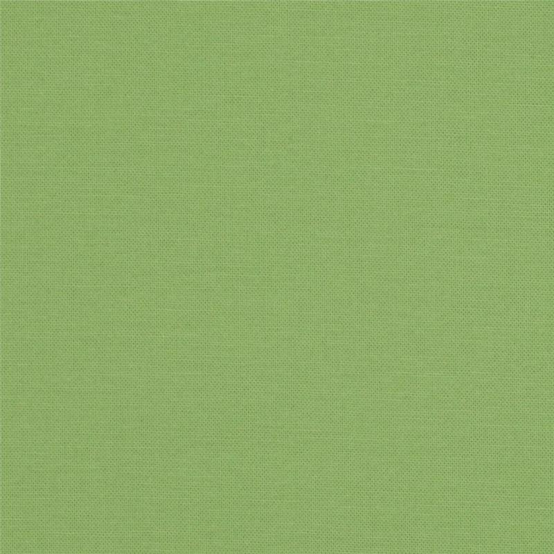 Kona cotton Spring Green colour by Robert Kaufman
