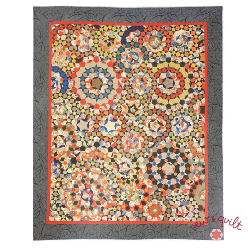 La_Passacaglia_quilt_kit_english_paper_piecing_Millefiori_Quilts_UK