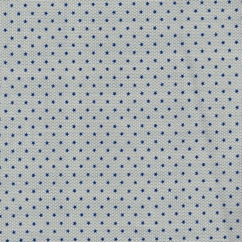 Ladies Legacy Union Blue Ellen's Comfort cotton quilting fabric