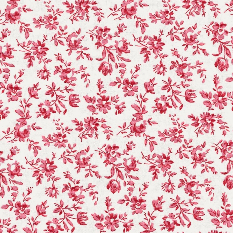 Le Beau Papillon Fabric | Marpesia Pearl And Faded Red