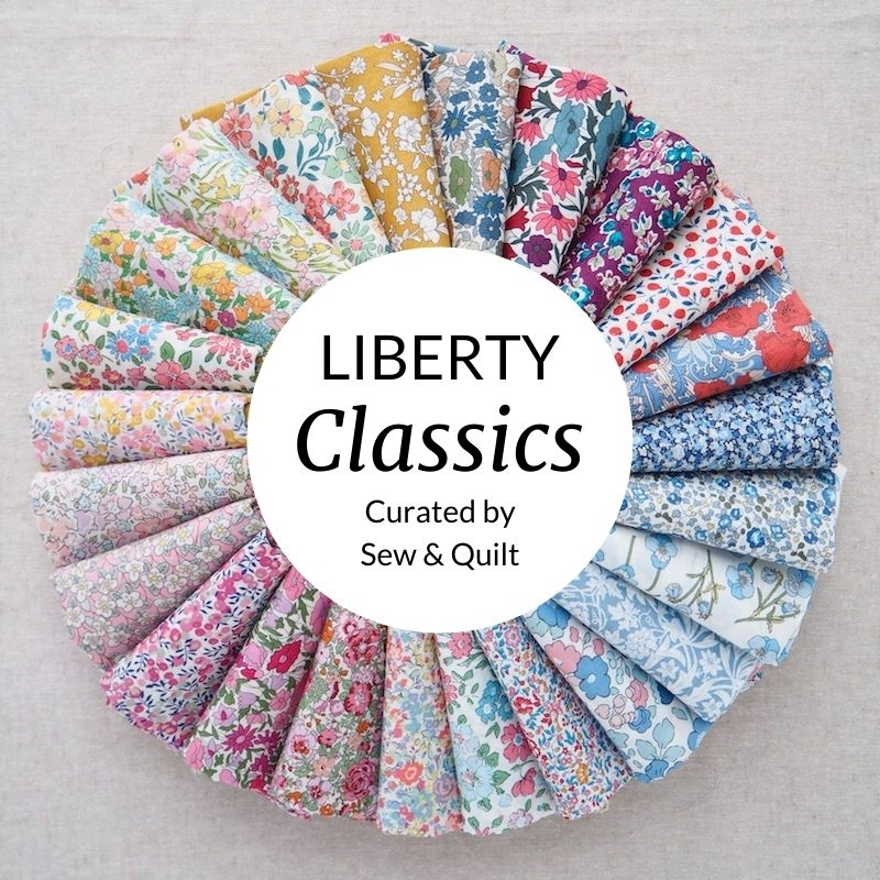 Liberty tana lawn fabric bundle, Classics range