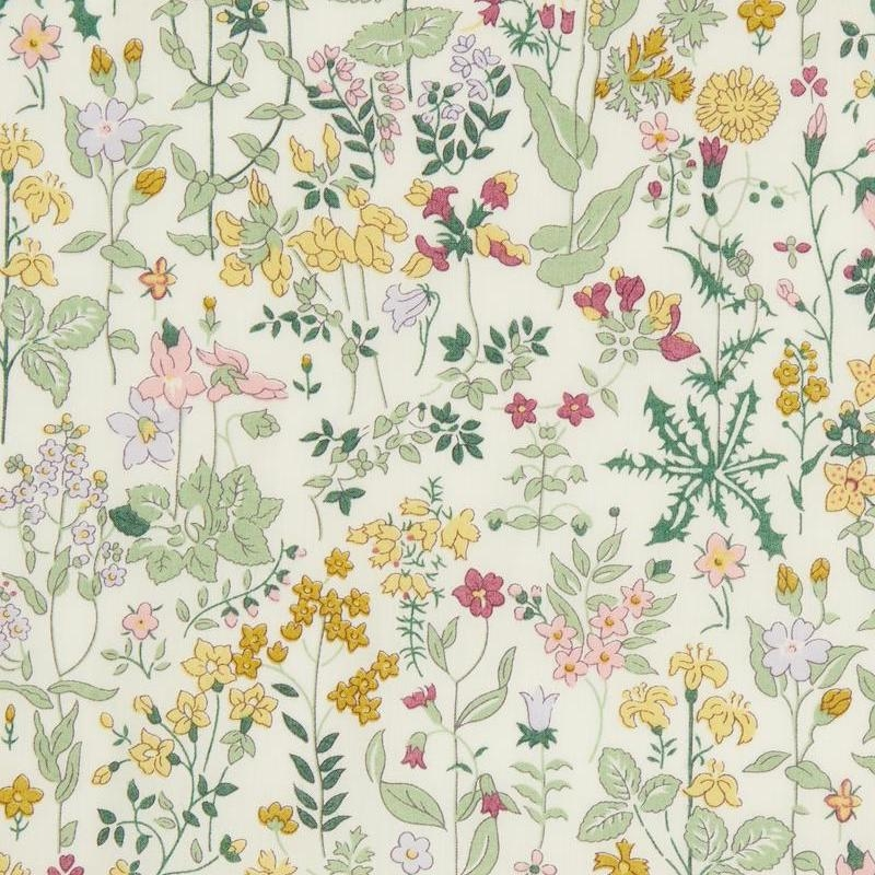 Liberty fabric Field Flowers A Organic Tana Lawn Cotton