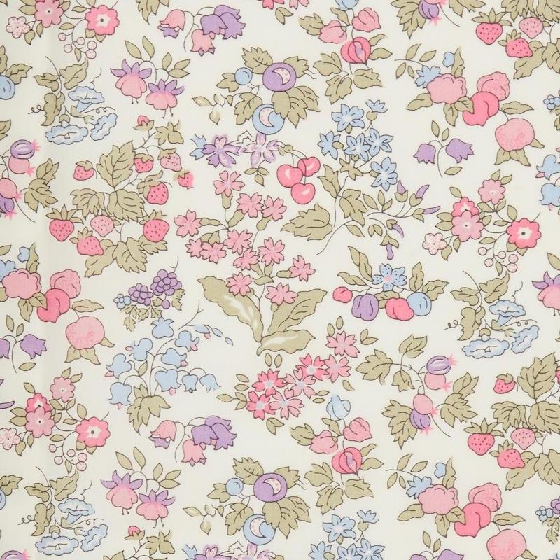Liberty fabric Nancy Ann A Organic Tana Lawn Cotton