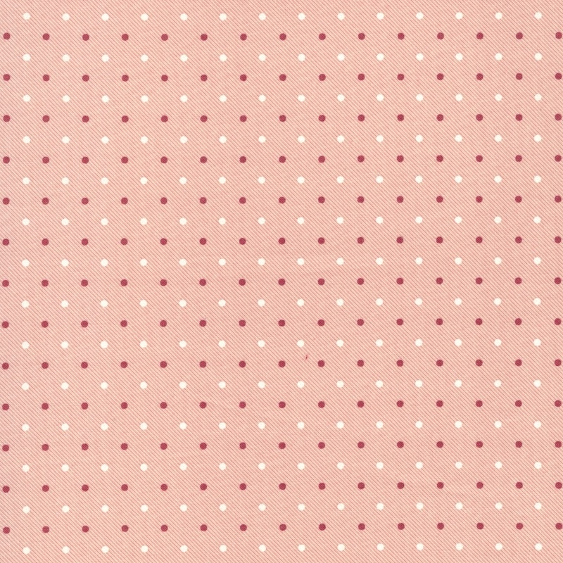 Northport Prints Cream and Red Dots | 14888-13