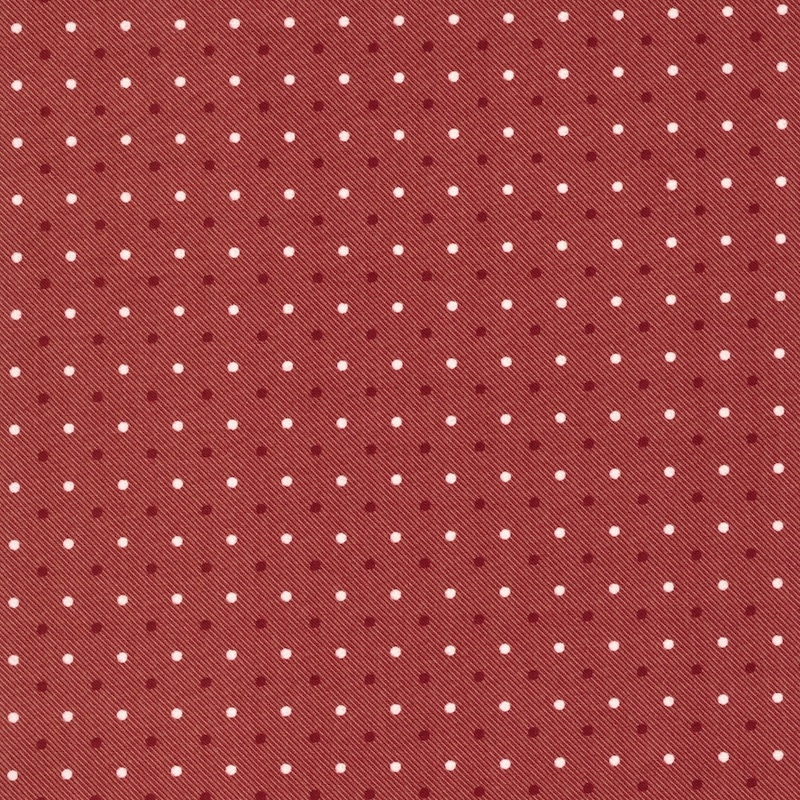 Northport Prints Red and Tan Dots | 14888-18