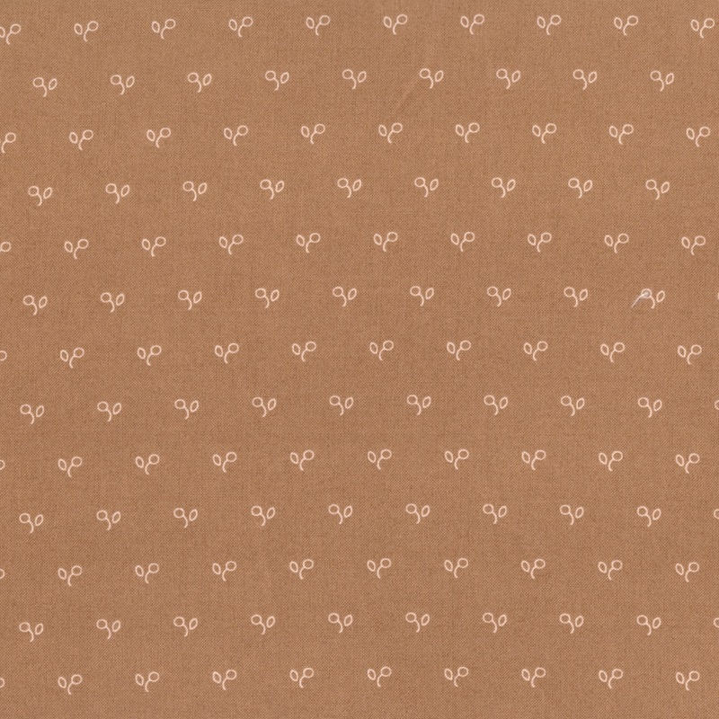 Northport Prints Minick & Simpson by Moda Tan Berries 14887-14