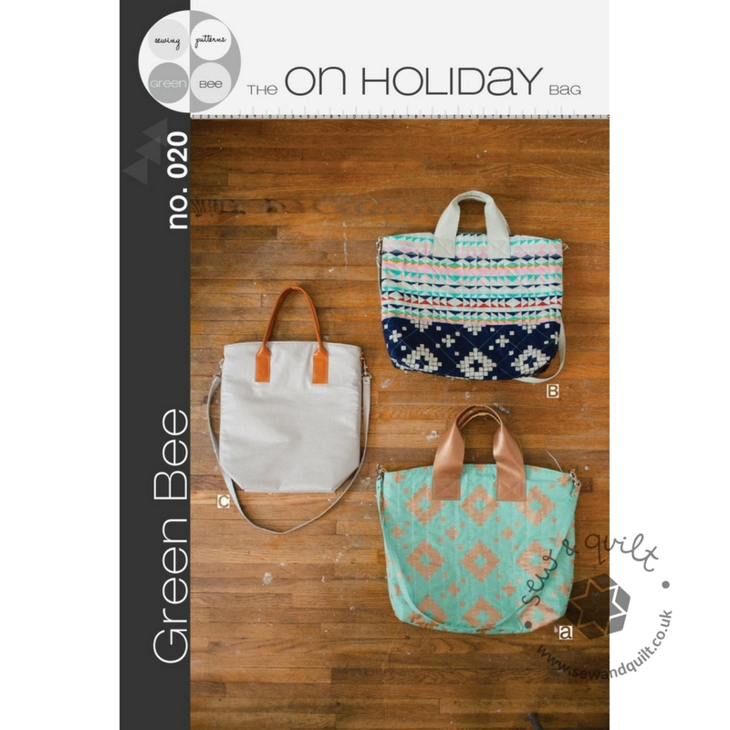 On-Holiday-Bag-Green-Bee-Patterns