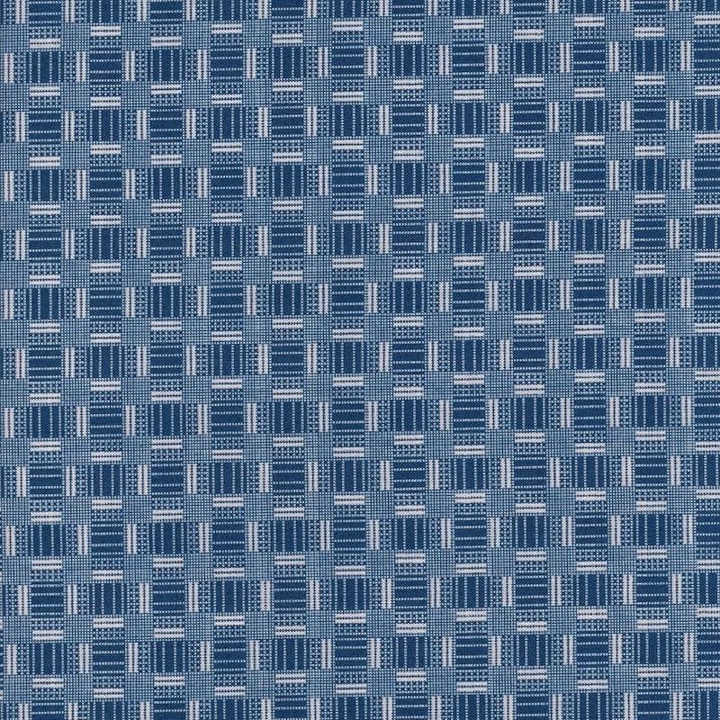 Petite Perennials Blue Printed Weave | 52533-12