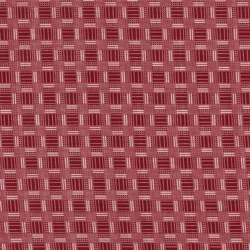 Petite Perennials Red Printed Weave | 52533-6