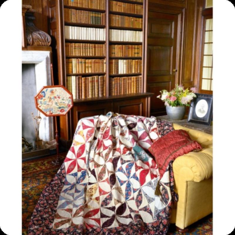 An Moonen Quilts.Promenade In A Dutch Castle By Petra Prins An Moonen Sew Quilt