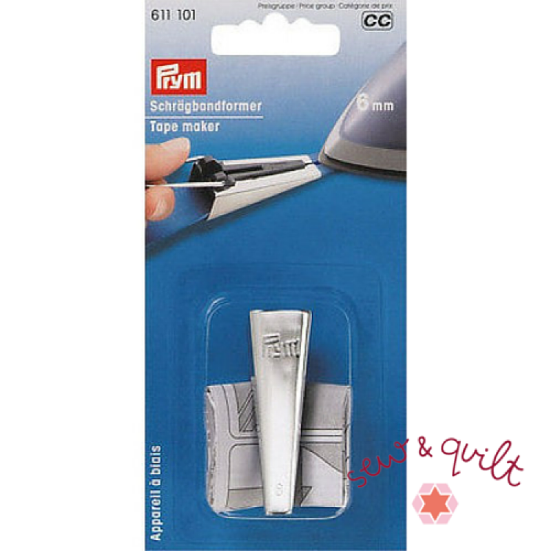 Prym_bias_tape_maker_6mm_quarter_inch