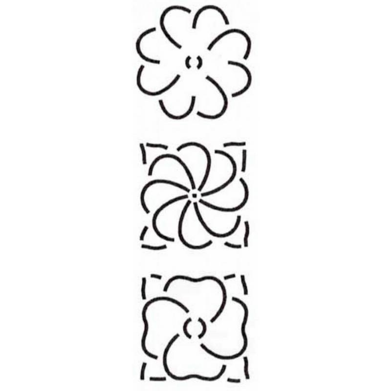Quilt Stencil-Floral Designs-MO41QC