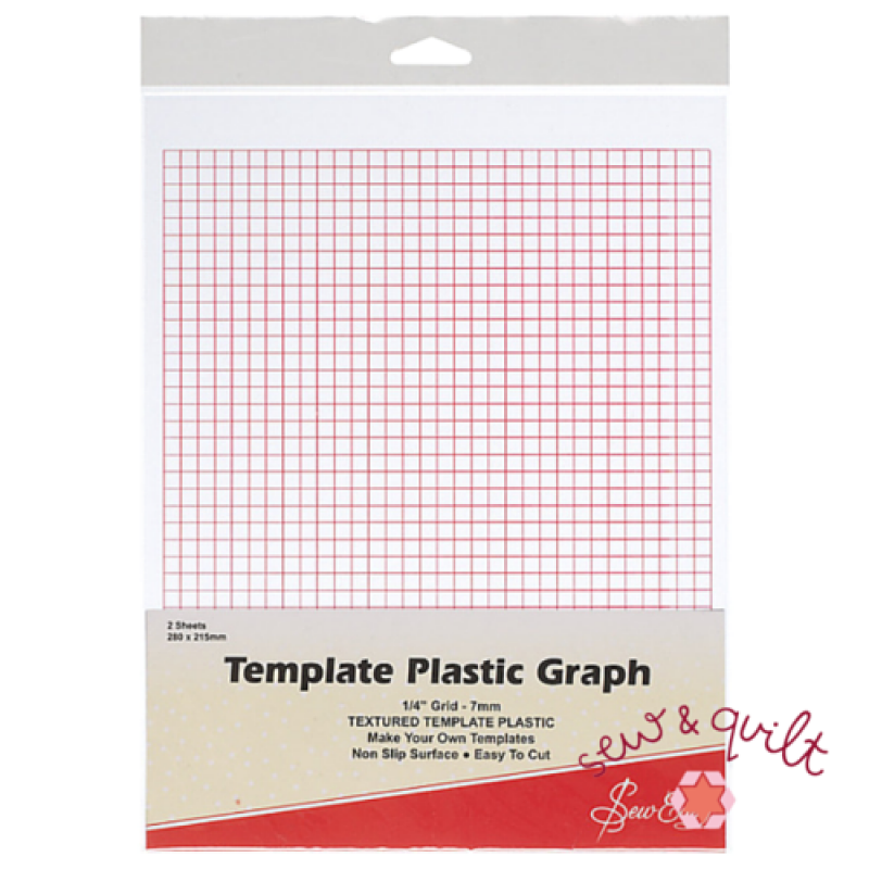 Quilting-Template-Graph-Pattern