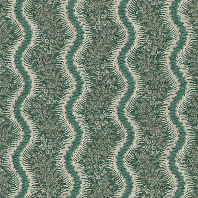 Journey To America Green Fringe Stripe | 0894-0115