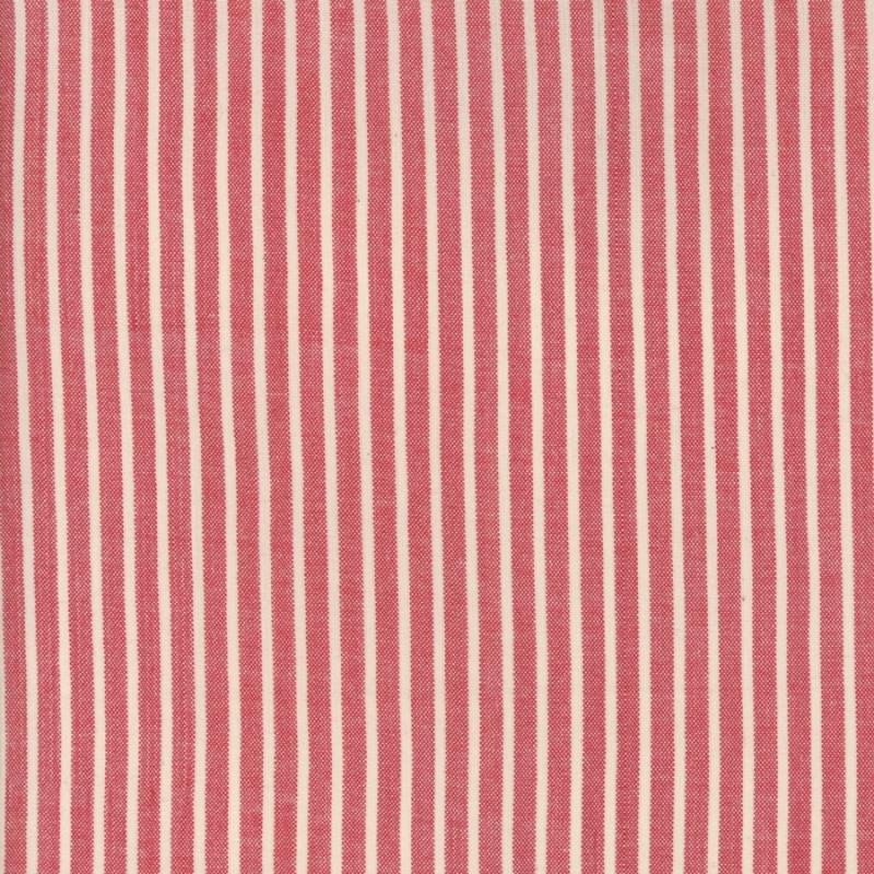 Silky Woven Atelier De France Rouge Striped