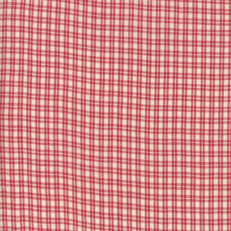 Silky Woven Atelier De France Rouge Tartan 12558-15