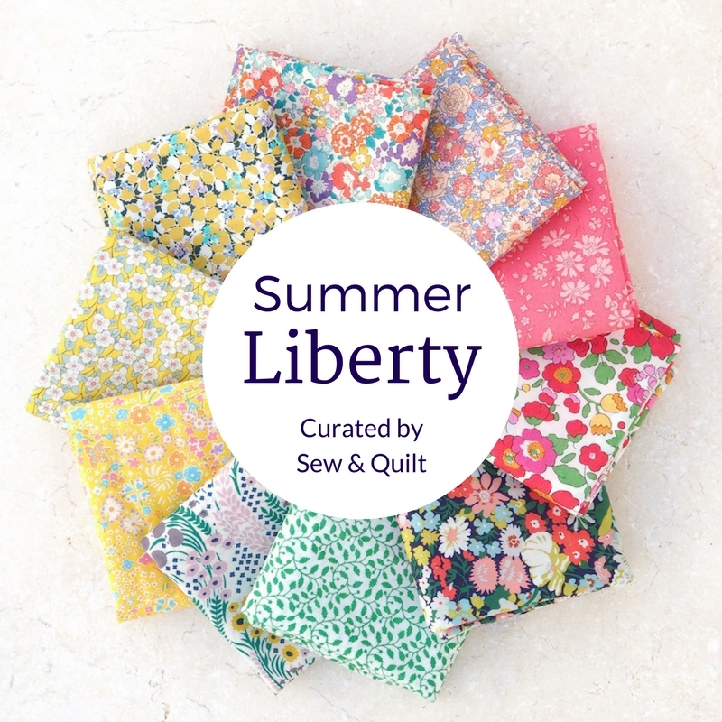 Summer Liberty Tana Lawn Fat Quarter Bundle
