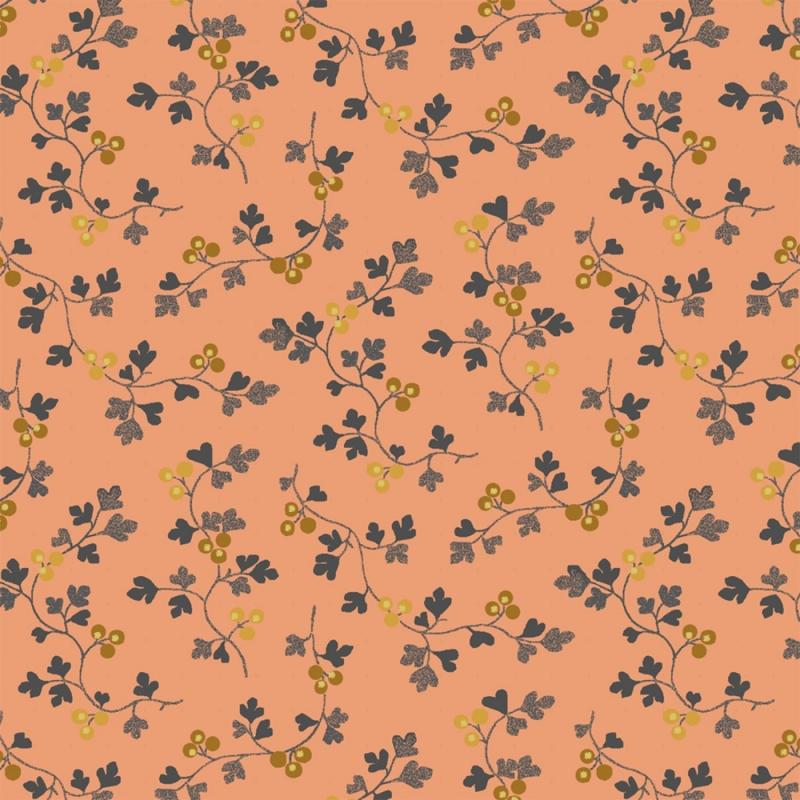 Tara Coral Berry Vine | 51238-6