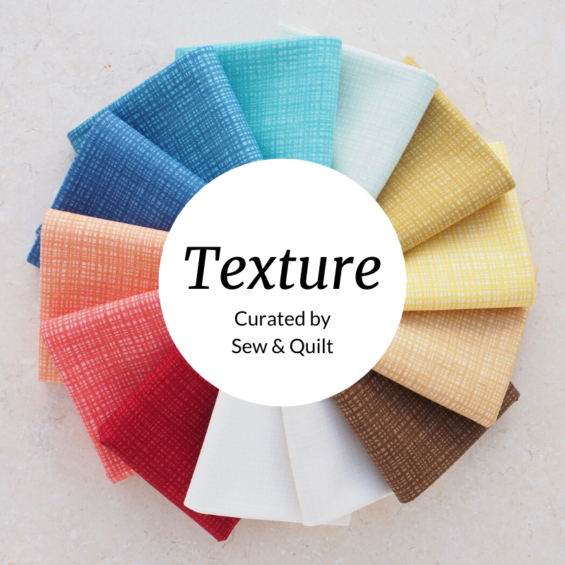 Texture In Colour Fat Quarter Bundle