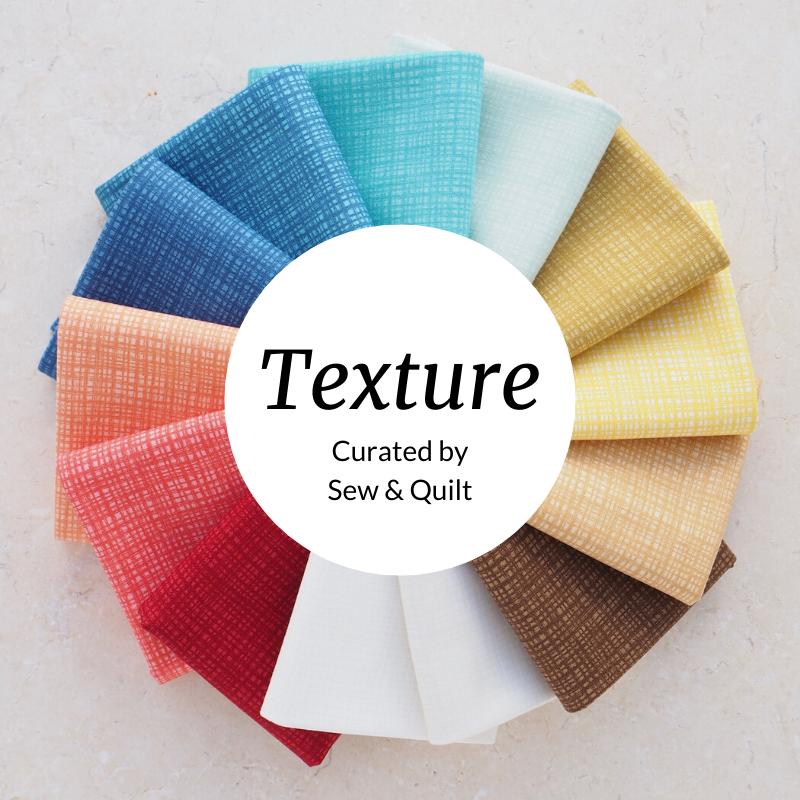 Texture In Colour Fat Quarter Bundle