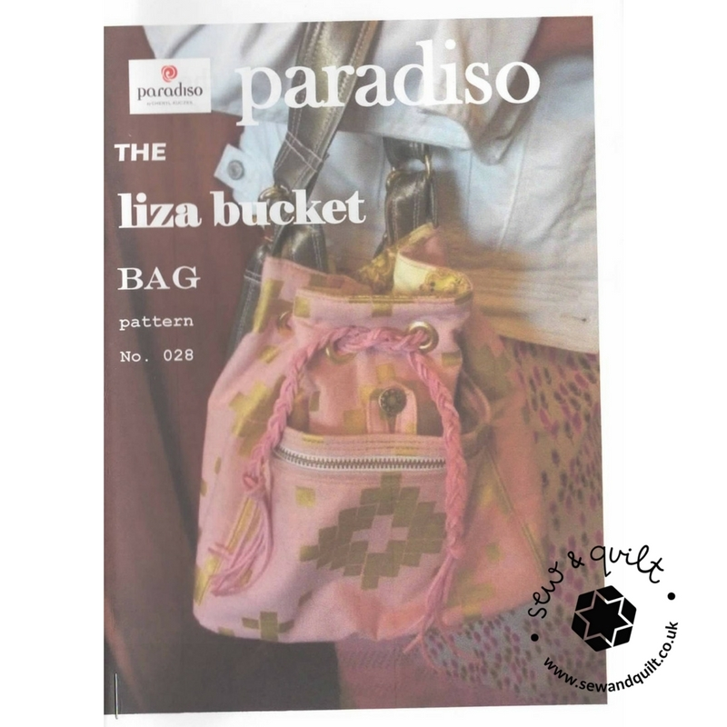 The Liza Bucket Bag by Paradiso