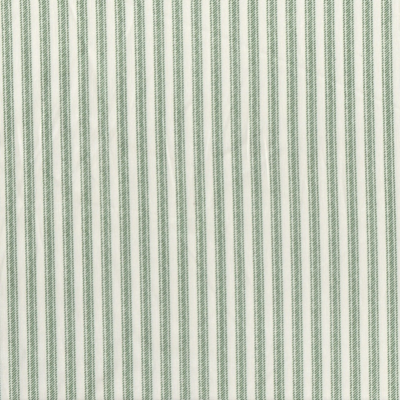 Ticking-Stripe-quilting-cotton-UK-green