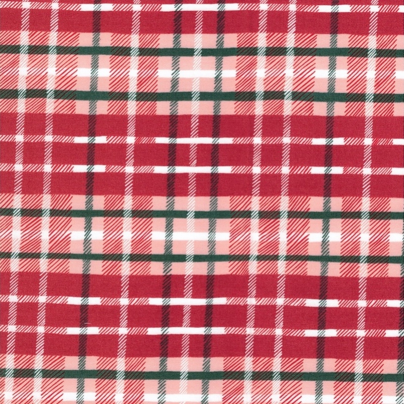 To Be Jolly Red & Green Plaid | 36046-17