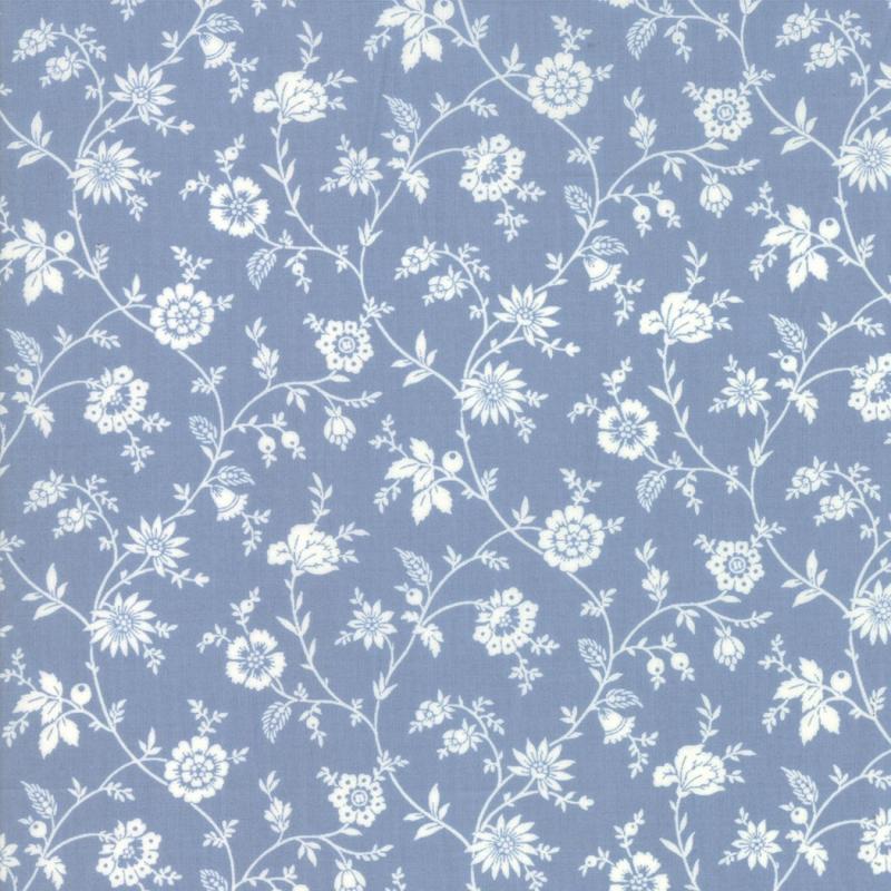 Tres Jolie Lawns Blue Floral Vine | 1387816LW