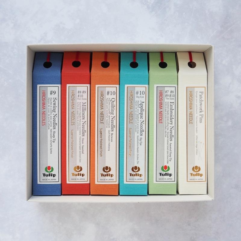 Tulip Hiroshima needle gift set
