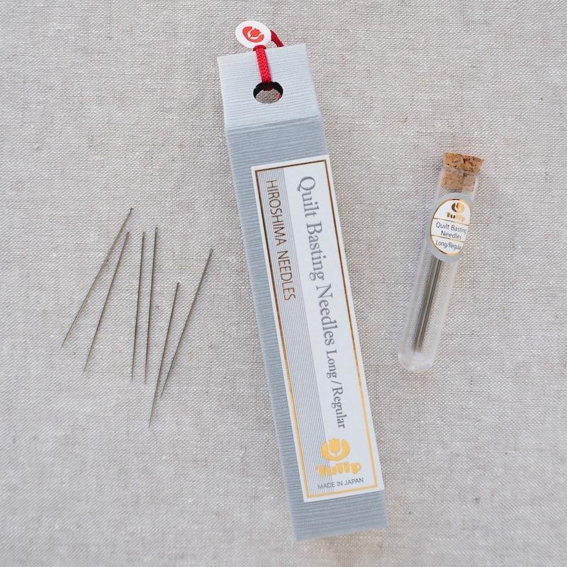 Tulip Hiroshima quilt basting needle