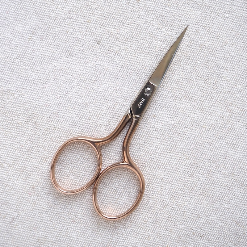 Tulip Hiroshima scissors pink curved