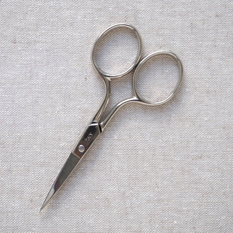 Tulip Hiroshima silver embroidery scissors