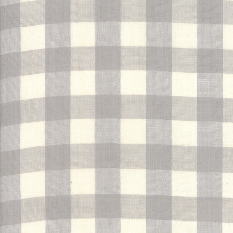 Woven Behind the Scenes Grey Mist Large Checkers 18135-13