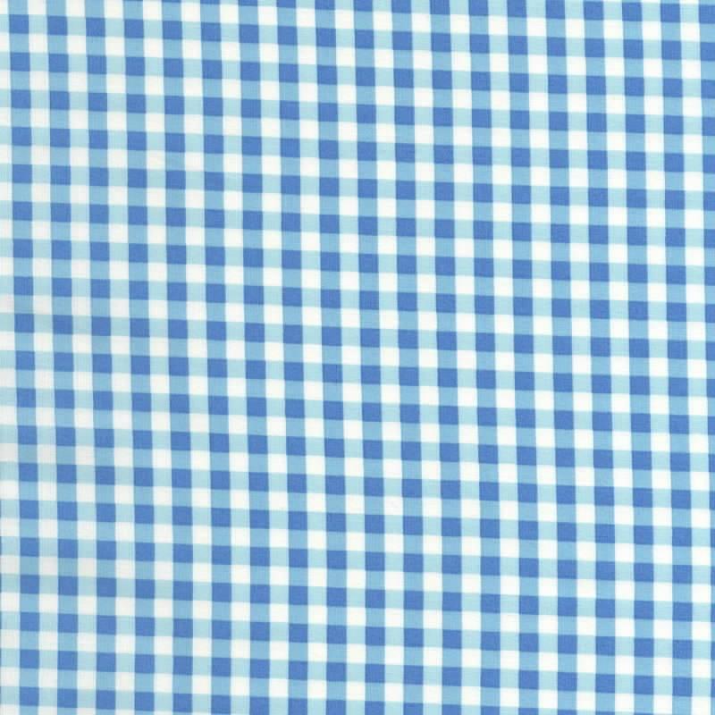 Yuwa-Fabric-Gingham-Blue
